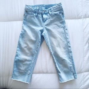 Gap toddler girl Capri jeans